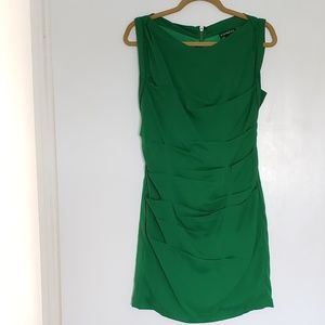 Express Green Sheath Dress